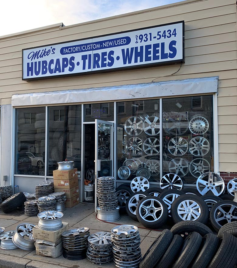 Contact Mike's Hubcaps
